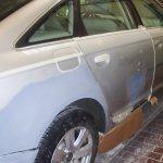 Autolackierung Audi A6 Seitenschaden