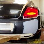 Autolackierung Bentley Coupe Heckschürze