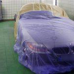 Autolackierung BMW Z4 Front Abdeckung