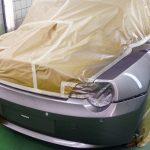 Autolackierung BMW Z4 Heck