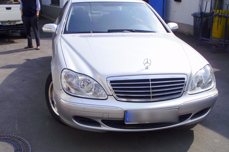 Autolackierung Mercedes S-Klasse