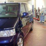 VW T5 in der Werkstat von Baumgart