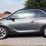 Fertig lackierter Opel Adam