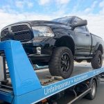 Autotransport eines Dodge RAM 1500
