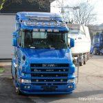 Scania Torpedo V8 beim Yachttransport