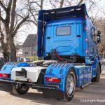 Heckansicht des Scania Torpedo V8