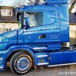 Fahrerseite des Scania Torpedo V8