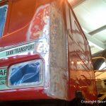 Vorarbeiten am Scania Torpedo V8