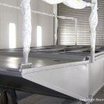 Lackierung einer Stahlplattform